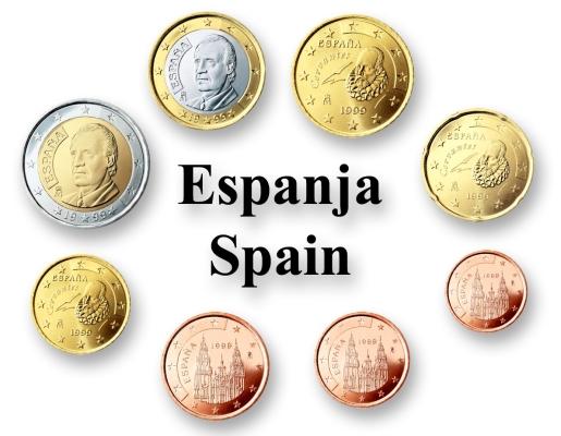 2 cent euro coin spain