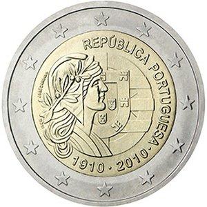 Portugali 2010 2e Portugalin tasavalta 100 vuotta [EUR PRT 2010] - www.vmtarvike.com 7,00 ...